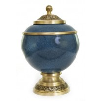 Brass Cremation Urn Sample 02